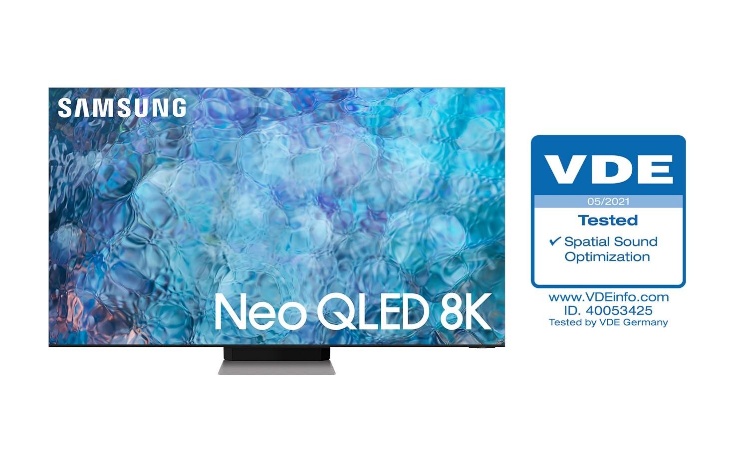 Foto de Televisores Neo QLED de Samsung obtienen la certificación de 'Spatial Sound Optimization' de VDE