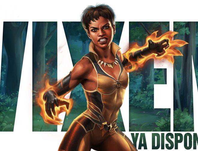 Fotos de El personaje de Vixen llega al videojuego Injustice 2 Mobile