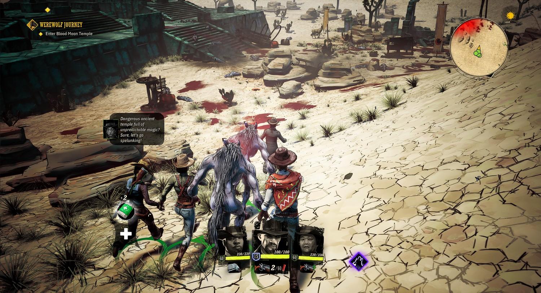 Foto de Weird West se prepara para PlayStation 4, Xbox One y PC