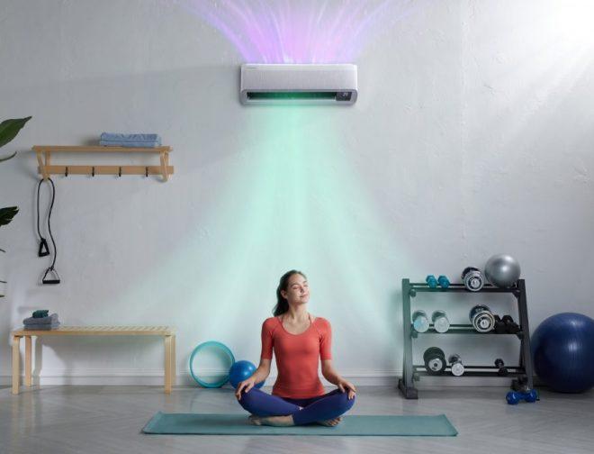 Fotos de La tecnología WindFree de Samsung brinda la temperatura ambiente ideal en cualquier época del año