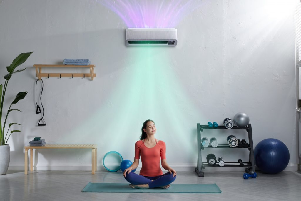 Foto de La tecnología WindFree de Samsung brinda la temperatura ambiente ideal en cualquier época del año