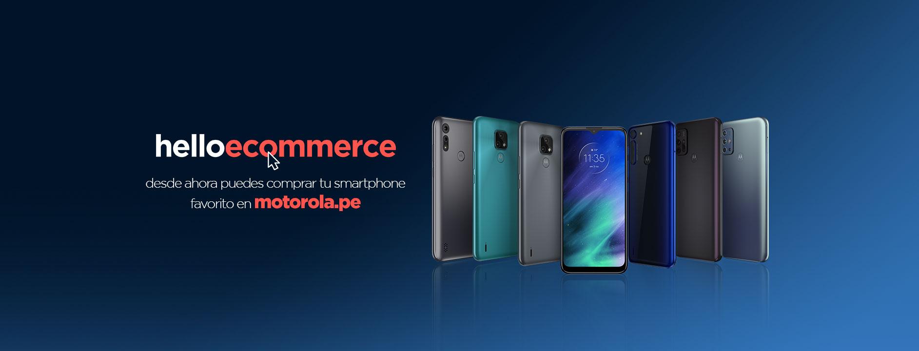 Foto de Motorola inaugura su tienda online en Perú