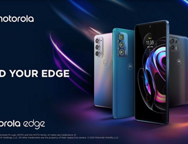 Fotos de Motorola presenta 3 nuevos equipos de la familia Motorola Edge