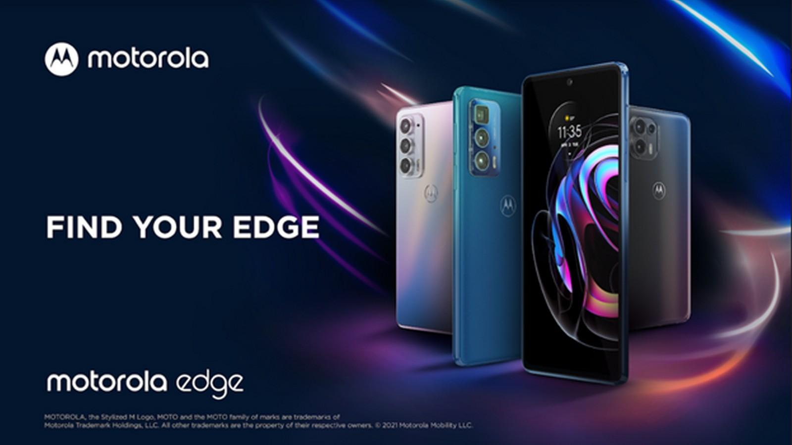 Foto de Motorola presenta 3 nuevos equipos de la familia Motorola Edge
