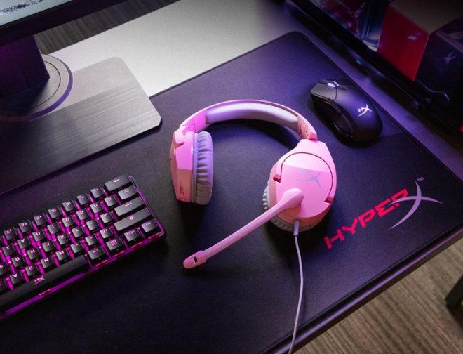 Fotos de HyperX añade rosa a sus audífonos Cloud Stinger