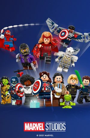 Foto de LEGO anuncia la colección de minifiguras de Marvel