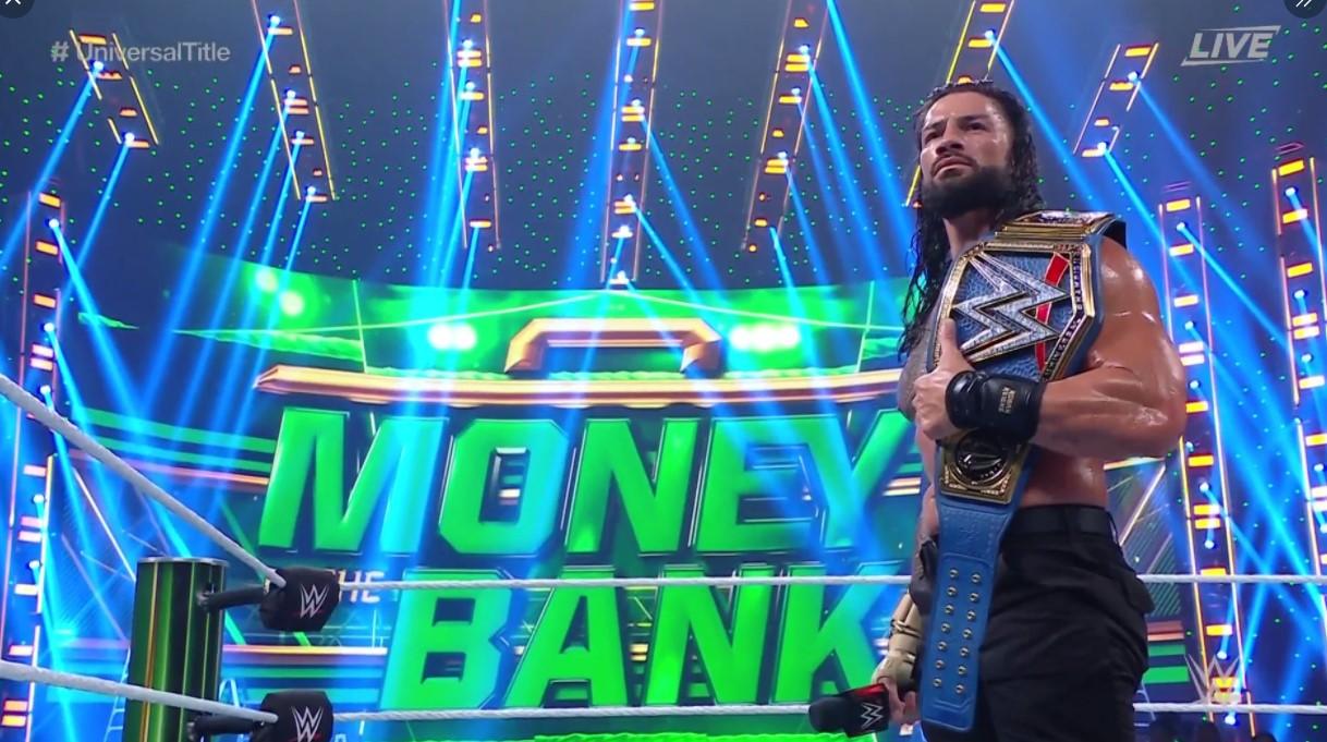 Foto de John Cena reaparece y reta a Roman Reigns en Money in the Bank 2021