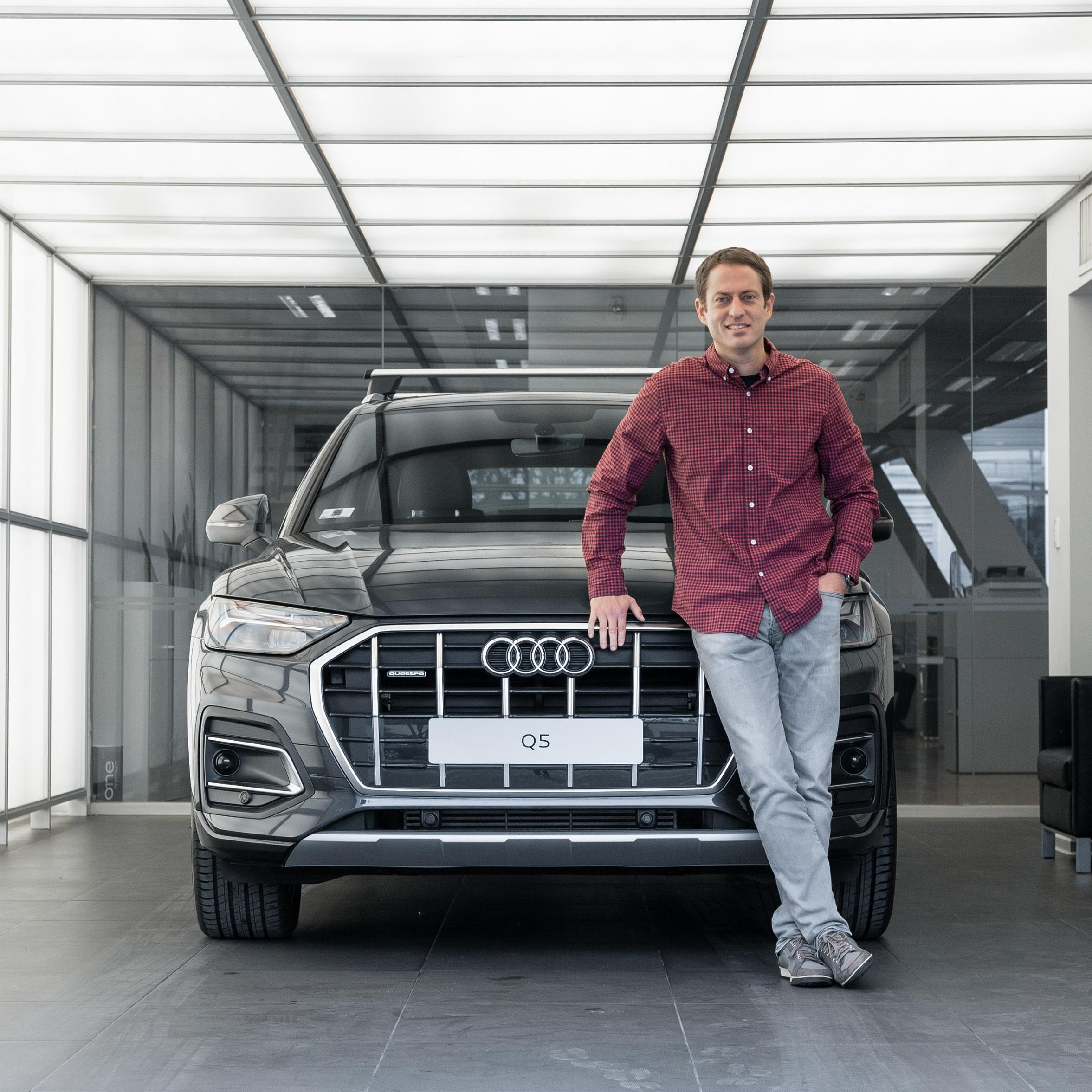 Foto de Audi presenta a James Berckemeyer como nuevo embajador de la marca