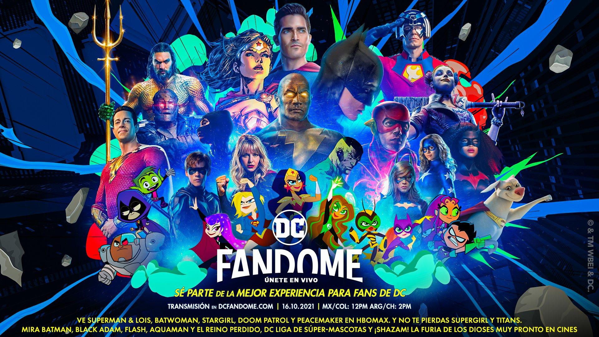 Foto de Con un tráiler se dan a conocer la fecha y los primeros detalles del DC FanDome 2021