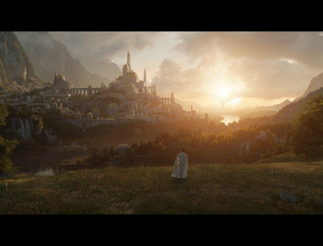Fotos de La serie original de The Lord of the Rings de Amazon Studios establece la Temporada Dos en Reino Unido