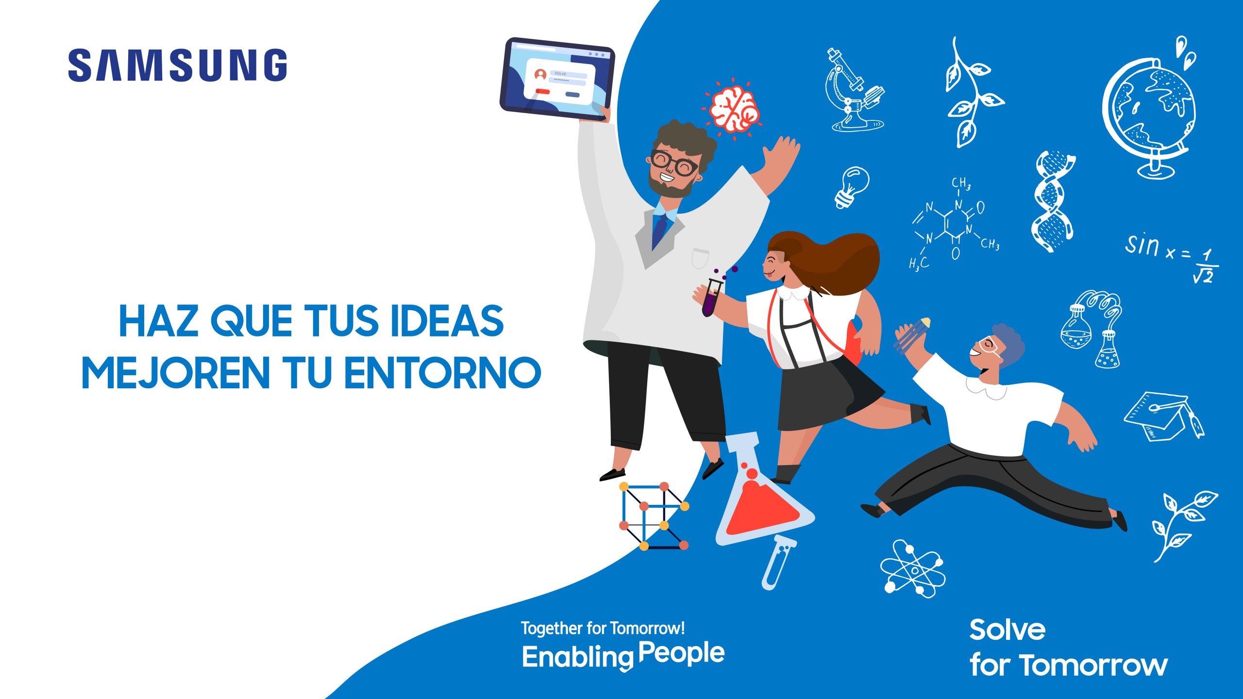 Foto de Samsung anuncio a los semifinalistas de Soluciones para el Futuro