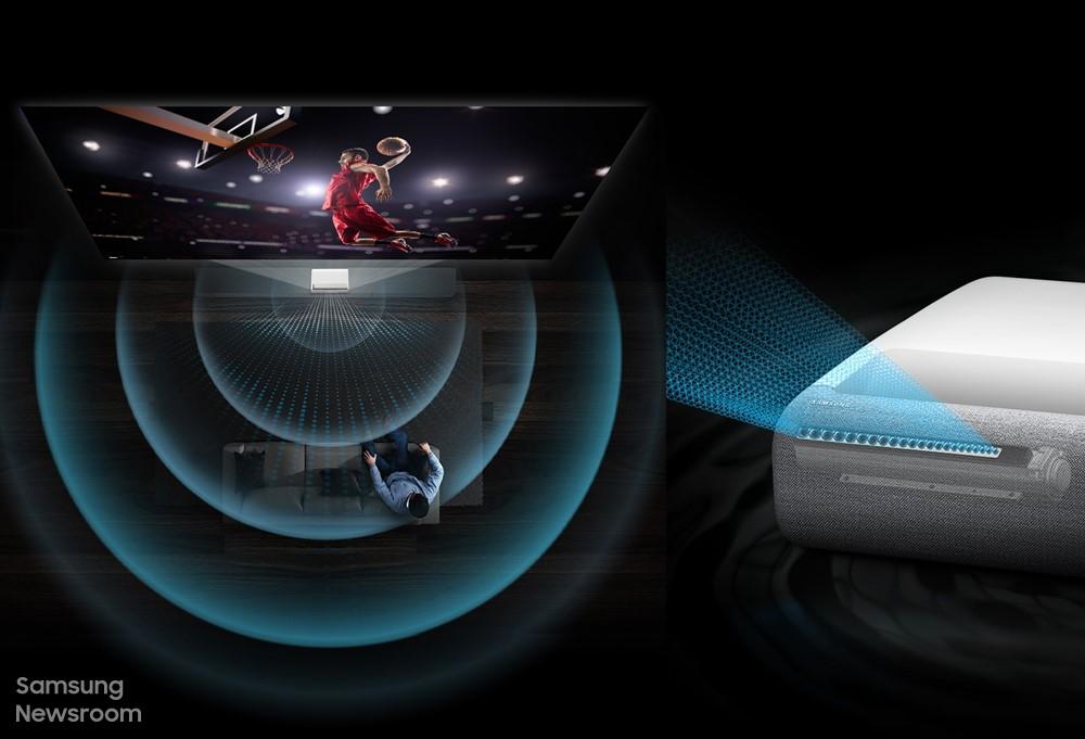 Foto de Lleva la emoción del estadio a tu casa con el proyector The Premiere de Samsung