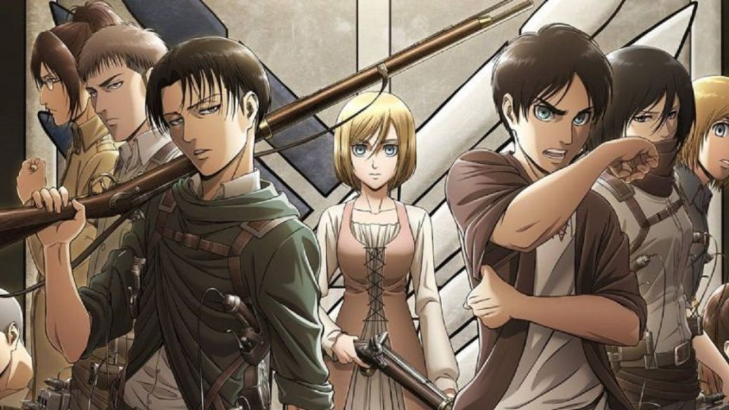 Foto de Se da a conocer la fecha de la temporada final del anime Attack on Titan