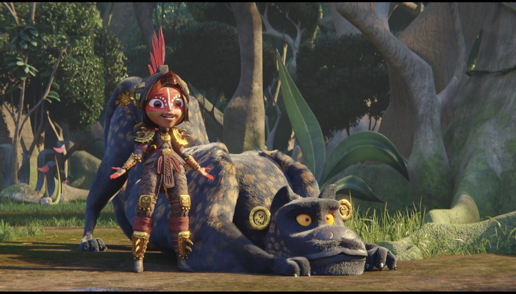 Foto de Tráiler de Maya y los tres, la nueva aventura animada de Netflix