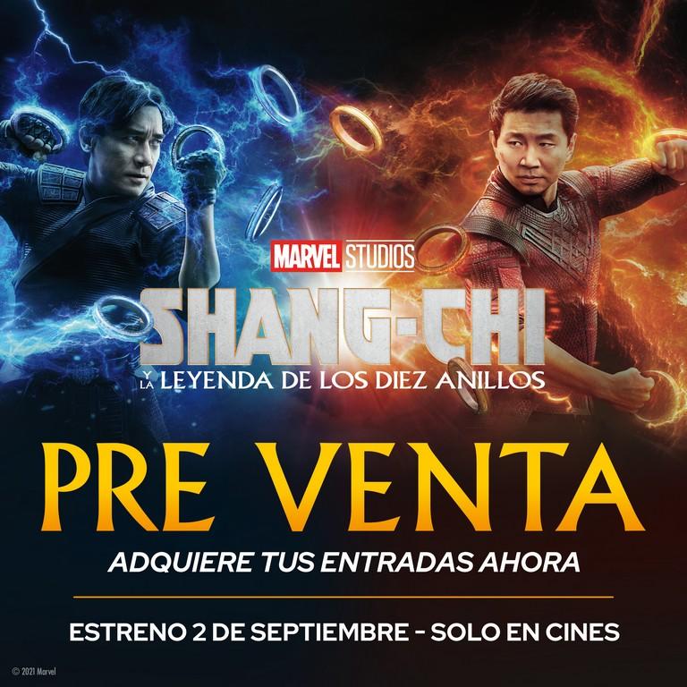 """Foto de La preventa de entradas para la película """"Shang -Chi"""" inició en todo el Perú"""