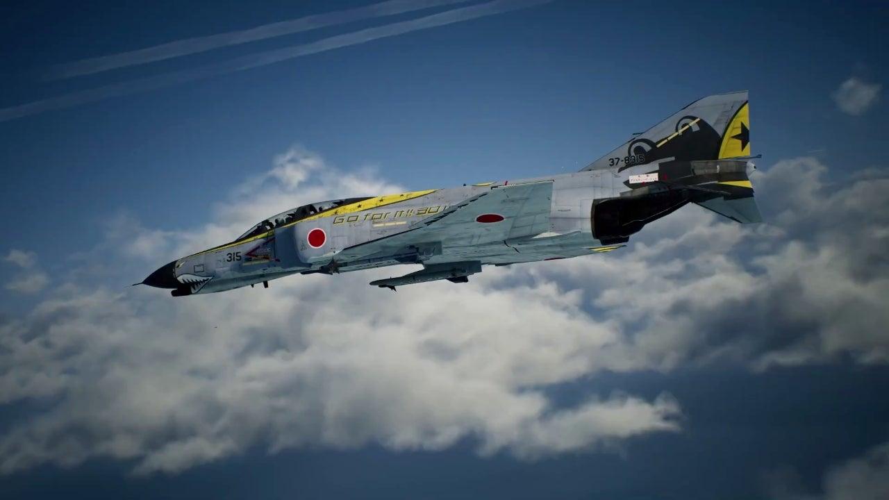 Foto de Tráiler del nuevo DLC de Ace Combat 7: Skies Unknown, basado en la JASDF