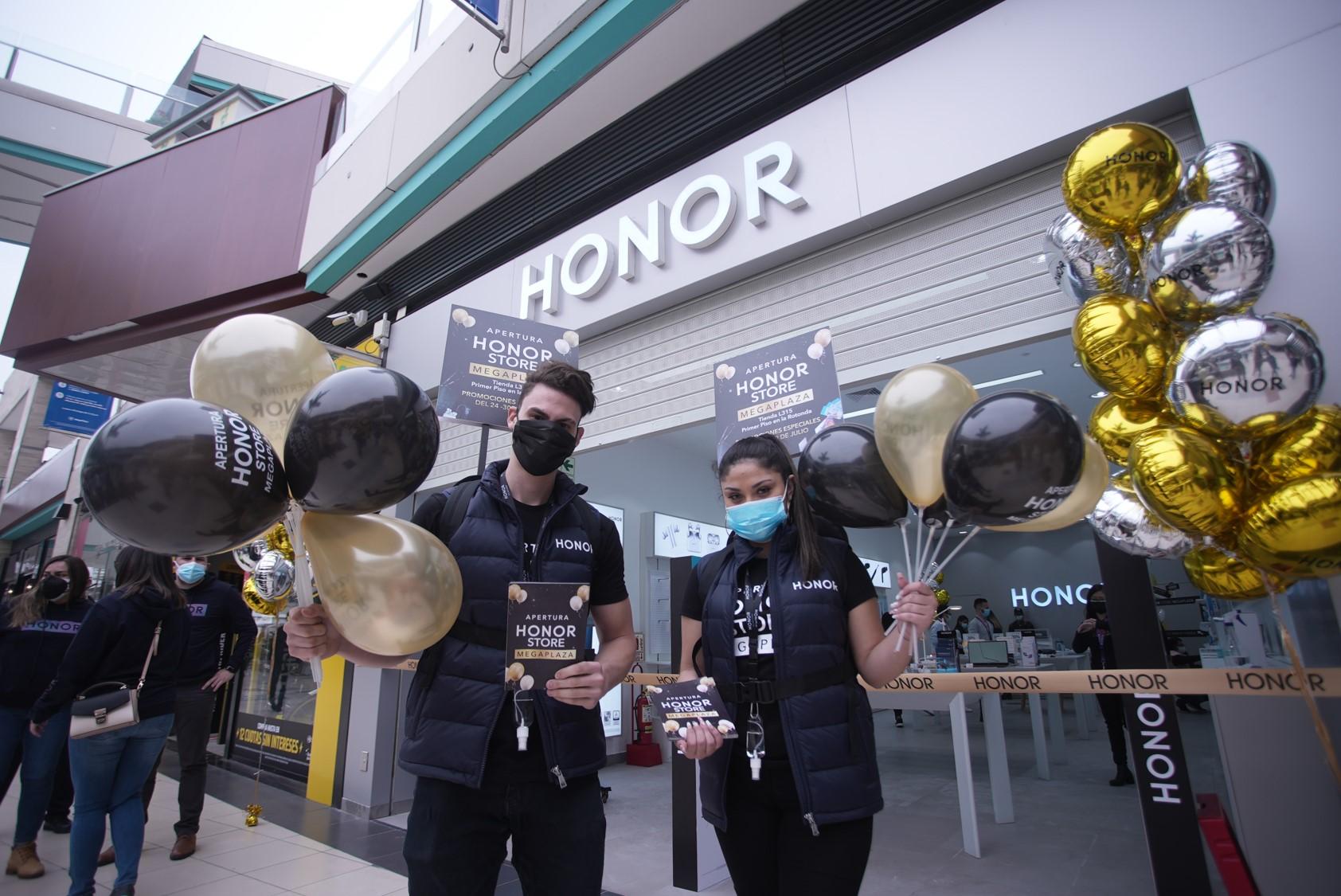 Foto de La marca HONOR anuncia apertura de dos nuevas Tiendas propias en Perú