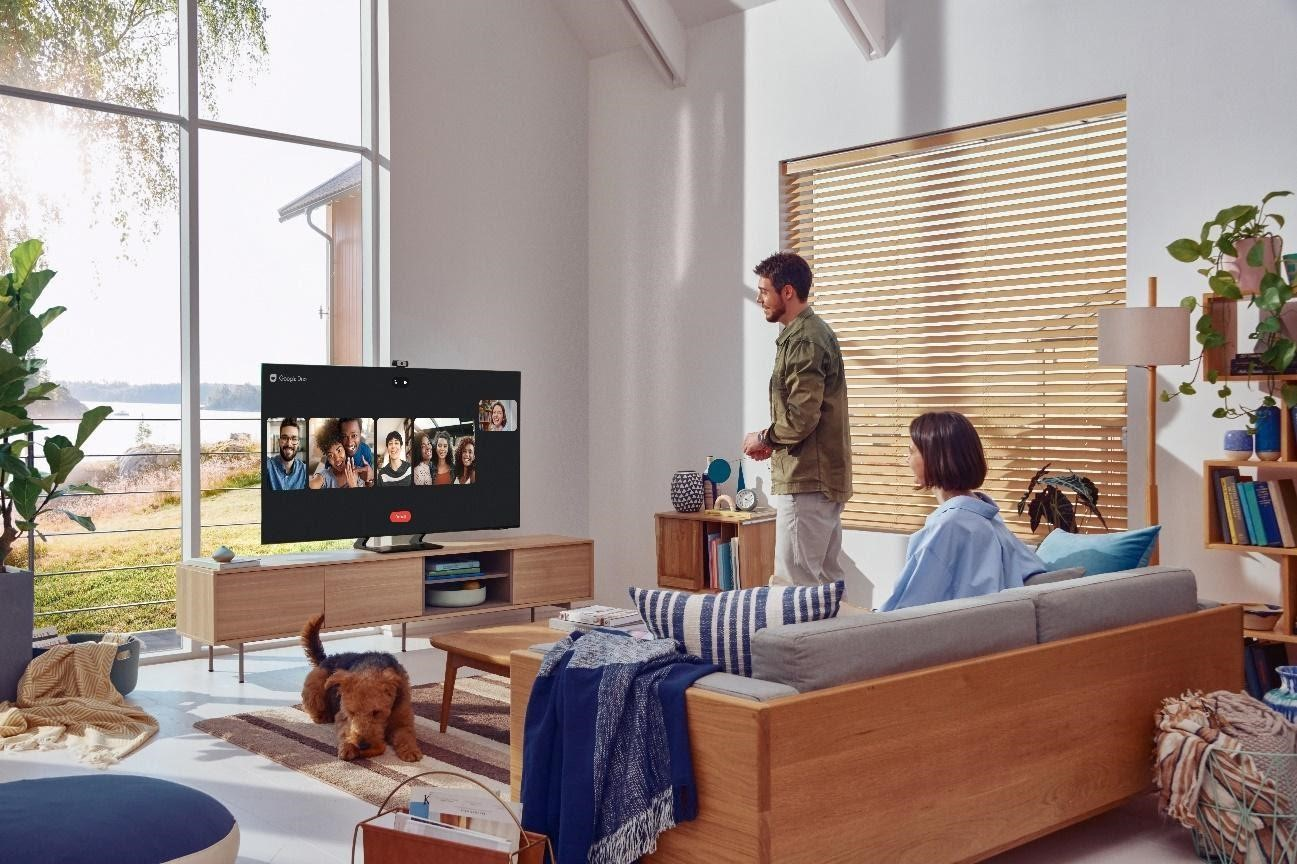 Foto de Aprende a realizar videollamadas directamente desde tu televisor Samsung