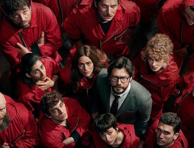 Fotos de La Casa de Papel: Actores se despiden del traje rojo