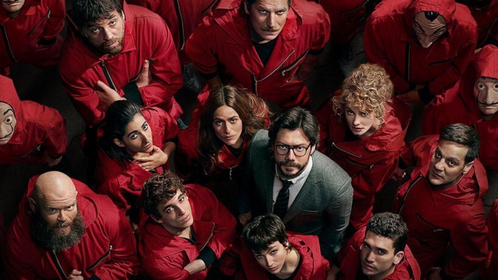 Foto de La Casa de Papel: Actores se despiden del traje rojo