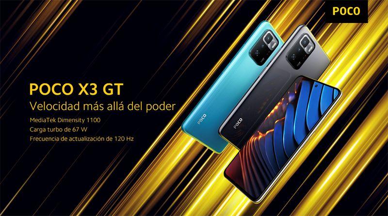 Foto de El POCO X3 GT llegó a Perú