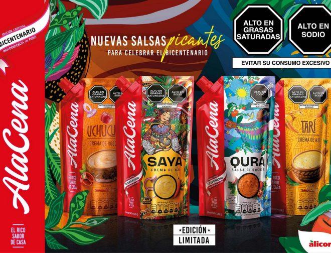 Fotos de AlaCena presenta sus nuevas salsas en homenaje al Bicentenario del Perú