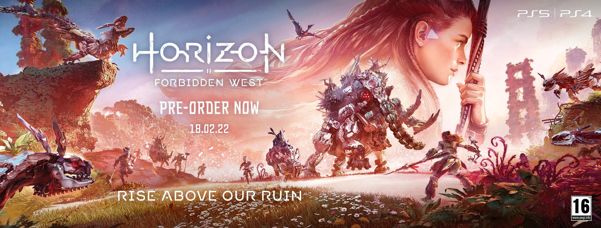 Foto de El juego Horizon Forbidden West tendrá varias ediciones de colección
