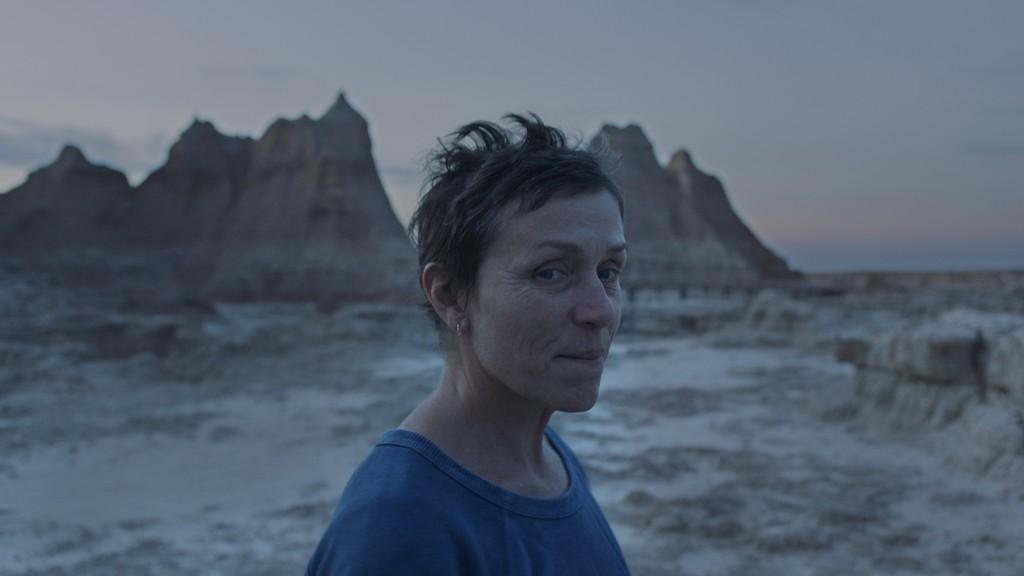 """Foto de """"Nomadland"""" la multipremiada película, ya puede ser vista en todos los cines del país"""