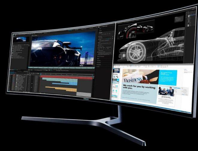 Fotos de Cómo dividir la pantalla de tu monitor Samsung para realizar más de una tarea