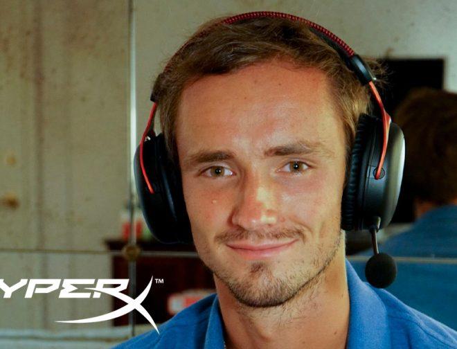 Fotos de HyperX firma alianza con el tenista profesional Daniil Medvedev como embajador de marca global
