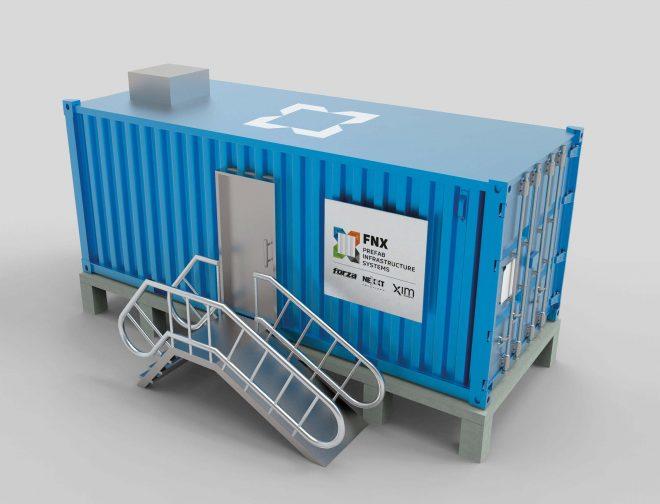 Fotos de FNX la nueva alianza de Forza, Nexxt Solutions y XIM para Data Centers prefabricados
