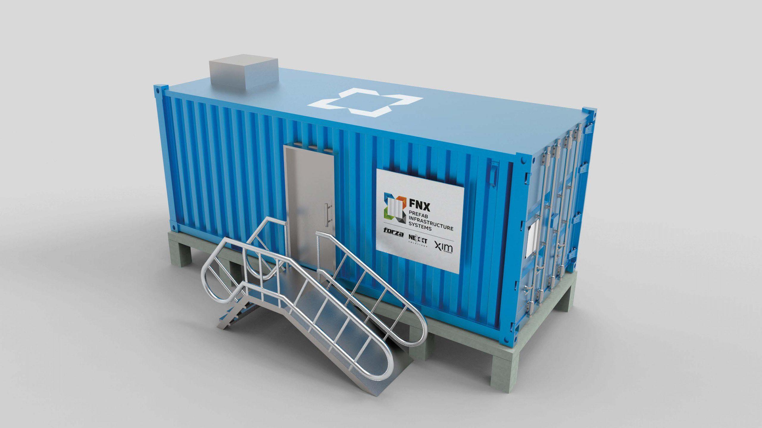 Foto de FNX la nueva alianza de Forza, Nexxt Solutions y XIM para Data Centers prefabricados