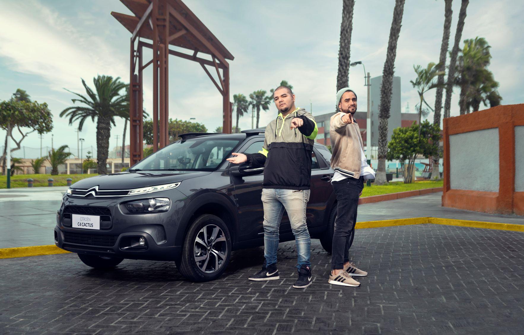 Foto de Franda, se subió está vez a la C4 Cactus de Citroën en un nuevo CË TALKS