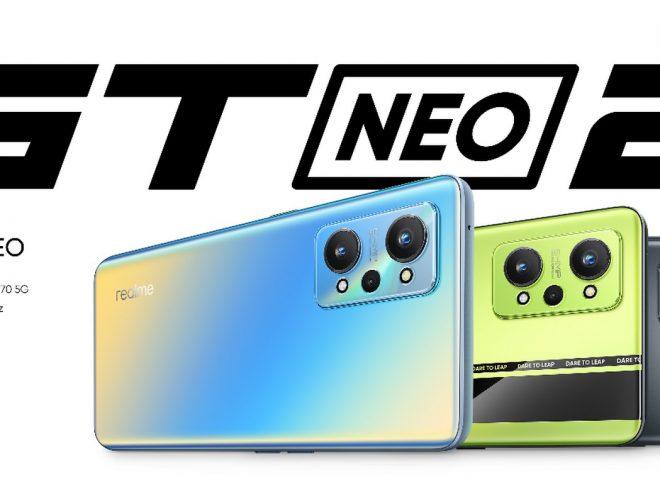 Fotos de realme presentó en Asia el realme GT Neo2