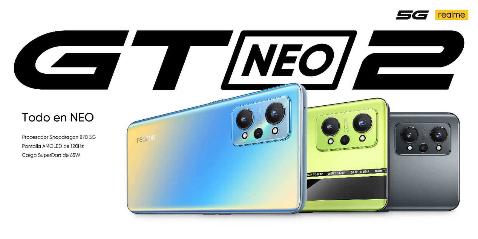 Foto de realme presentó en Asia el realme GT Neo2