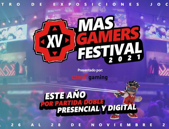 Fotos de Claro y MasGamers traen en formato híbrido el MasGamers Festival 2021 presentado por Claro gaming