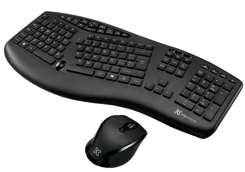 Foto de Klip Xtreme: Conoce los teclados y mouse de diseño ergonómico que evitan lesiones