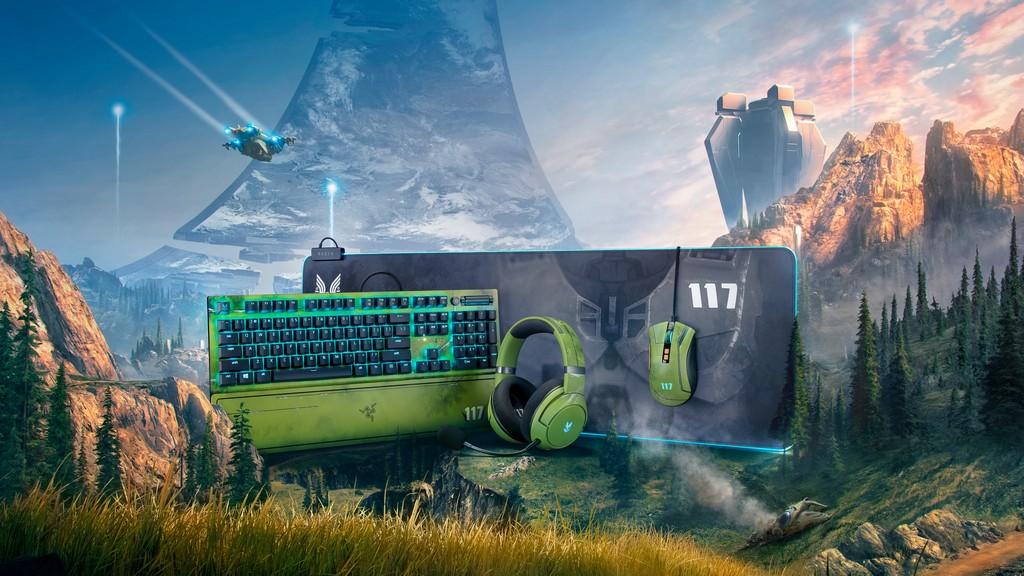 Foto de Razer da a conocer la colección exclusiva de periféricos inspirados en Halo Infinite