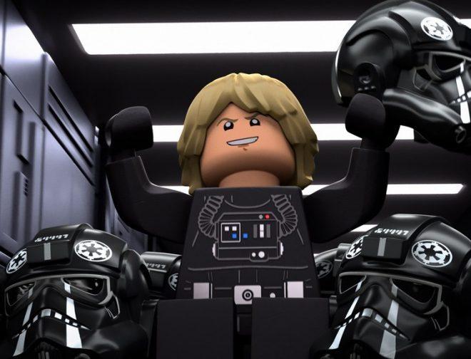 Fotos de Disney+ lanza el tráiler del de Halloween LEGO Star Wars Historias Aterradoras