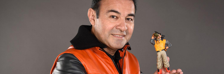 Foto de Mario Castañeda la voz de Goku llega a Perú para la Comic Convention Latin America 2021