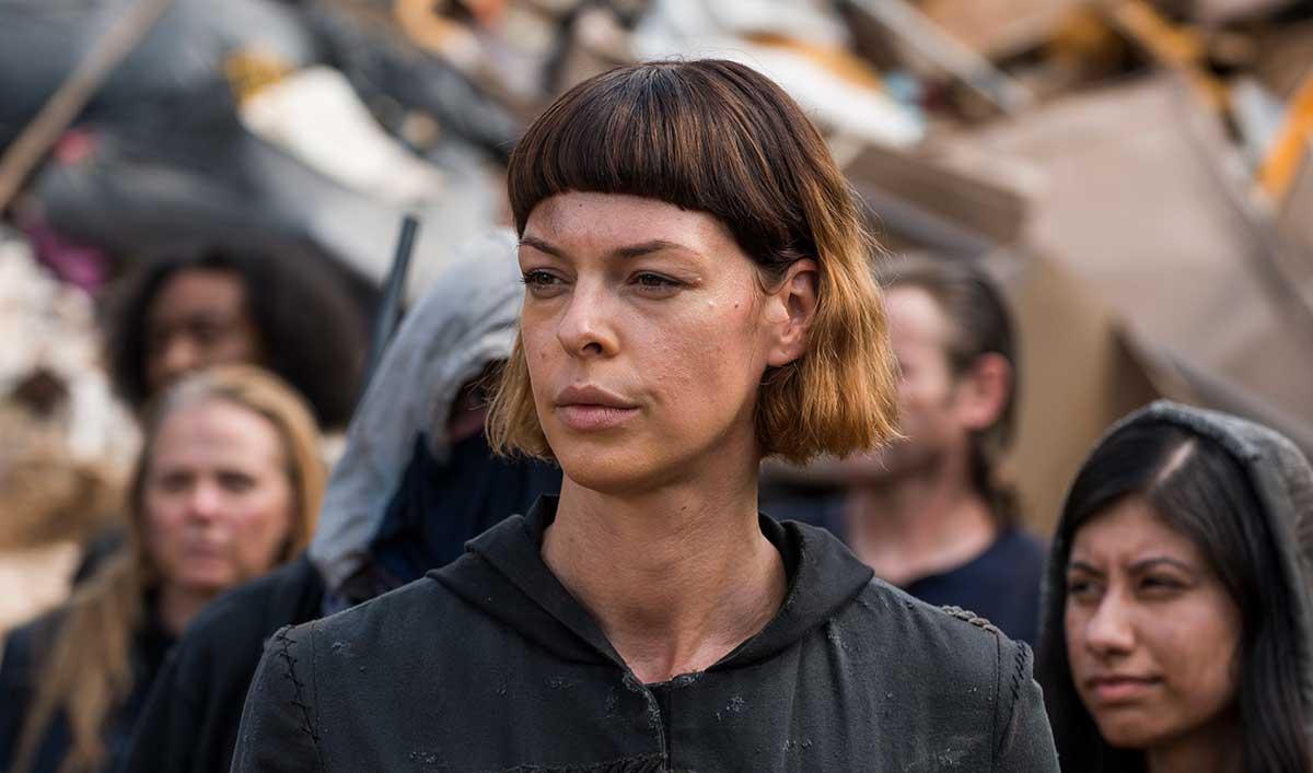 Foto de La actriz Pollyanna McIntosh se une al elenco The Walking Dead: World Beyond