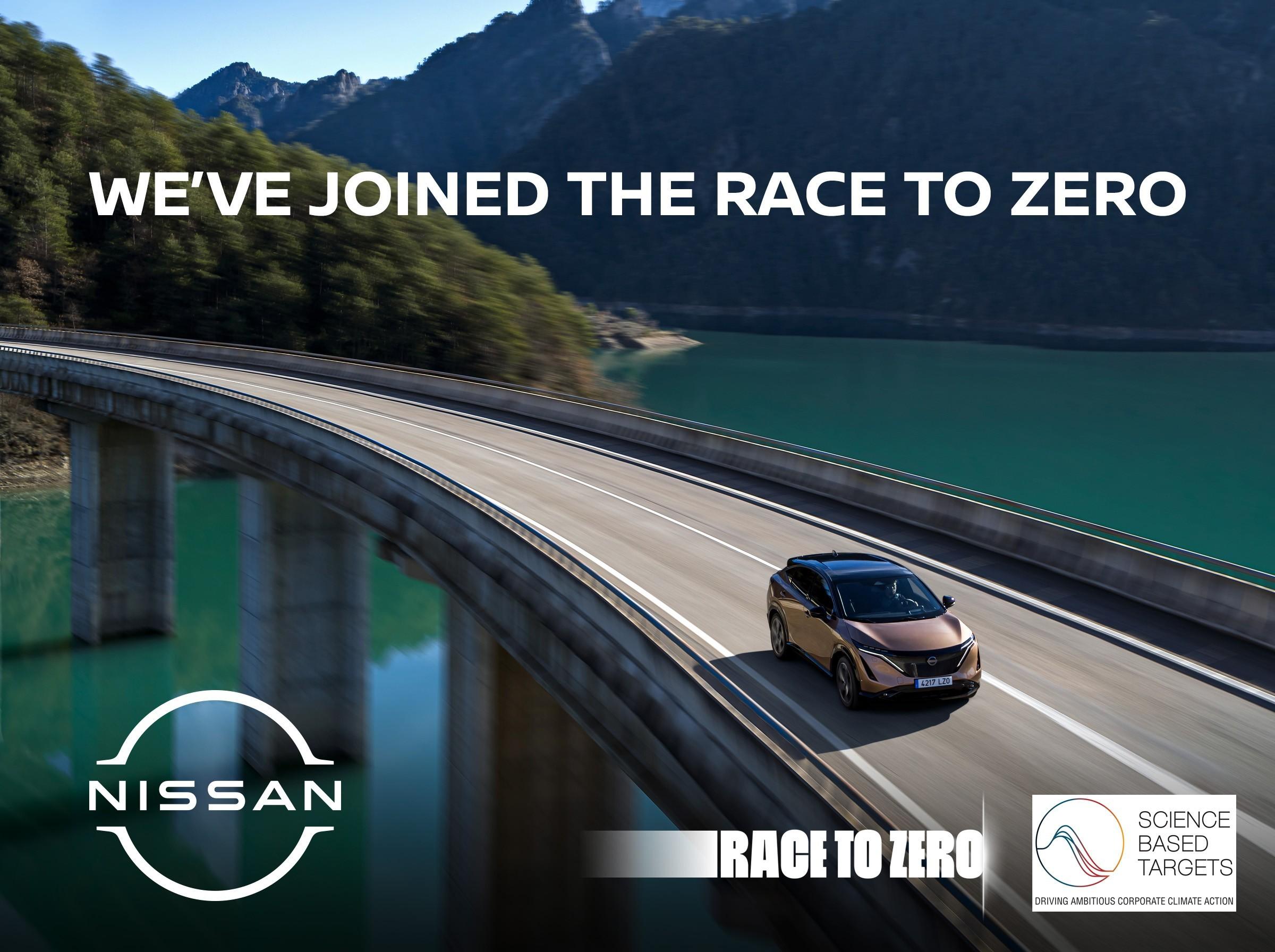 Foto de Nissan lleva su innovación y entusiasmo a la campaña 'Race to Zero'