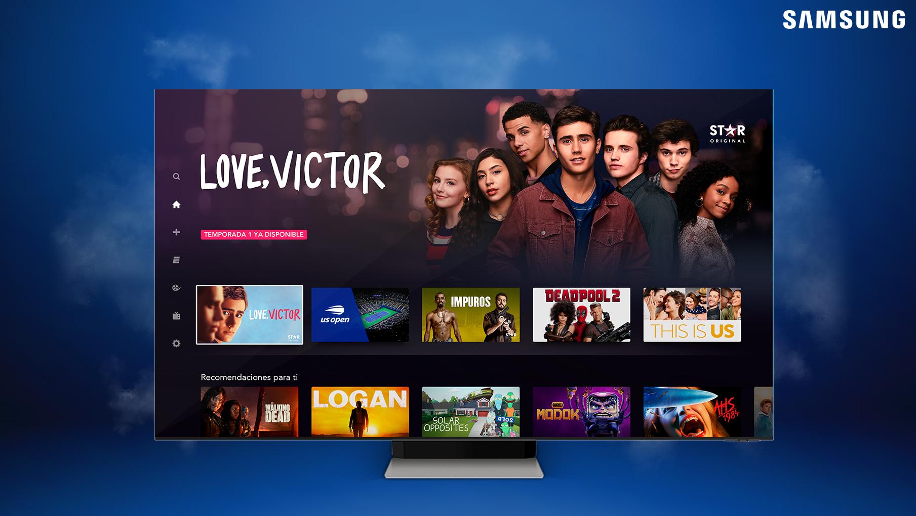 Foto de Smart TVs de Samsung ahora ofrecen acceso a la aplicación de servicio de streaming Star+ en Perú