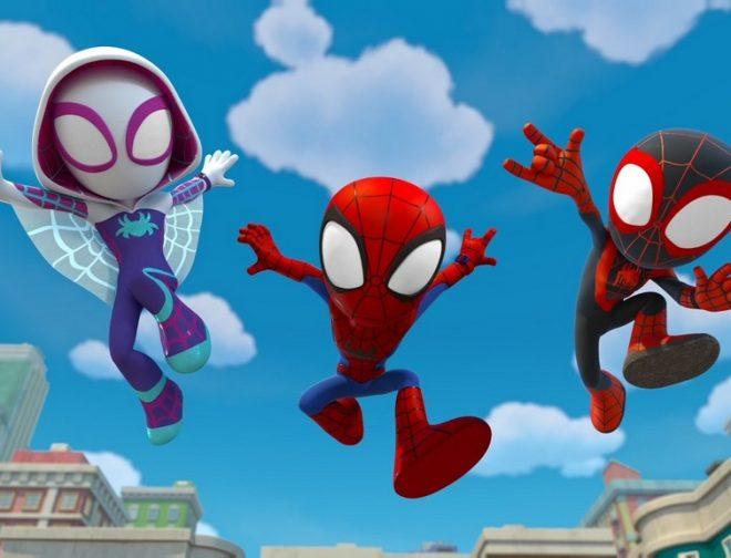 Foto de Disney+ estrena la serie Spidey y sus sorprendentes amigos