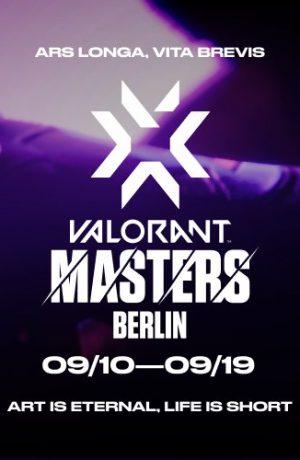 Foto de Horarios y donde seguir las semifinales y final de la VCT: Masters – Berlín de Valorant