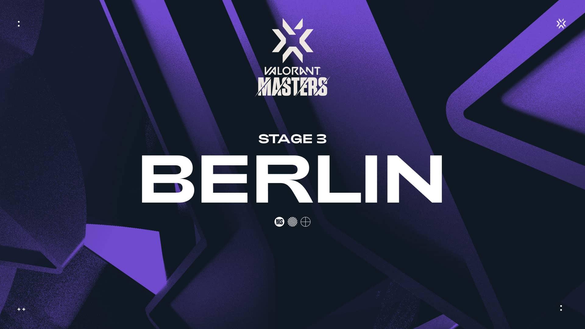 Foto de Horarios y donde seguir el Group Stage de la VCT: Masters – Berlín de Valorant