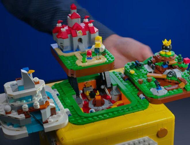 Fotos de LEGO lanza set ambientado en Super Mario 64
