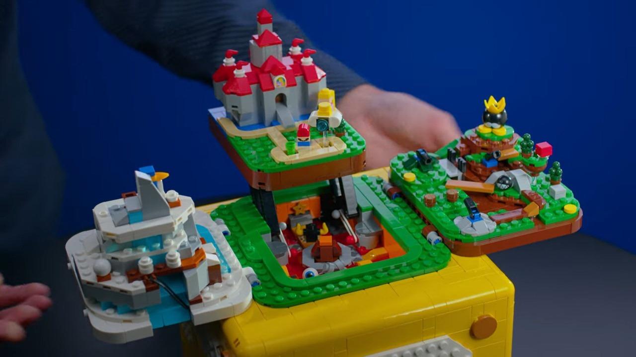 Foto de LEGO lanza set ambientado en Super Mario 64