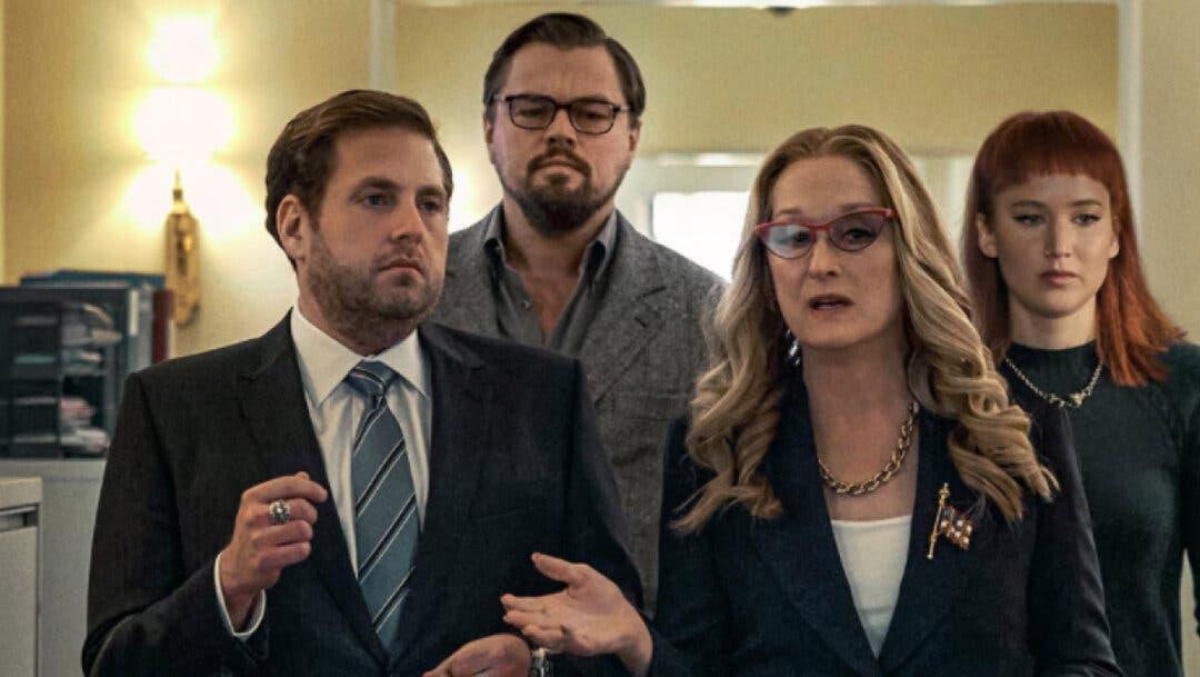 Foto de Nuevo clip de Don't Look Up con Jennifer Lawrence, Leonardo DiCaprio y Meryl Streep