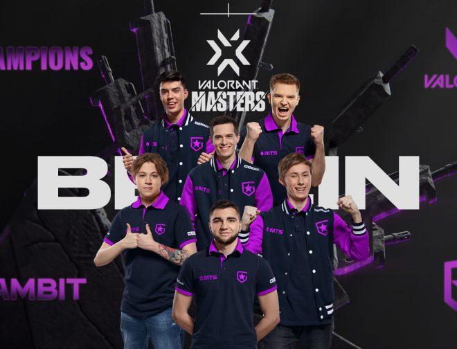 Foto de Gambit Esports es el campeón de la Valorant Masters de Berlín 2021